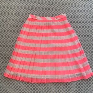 Lilly Pulitzer Pink and White Skirt